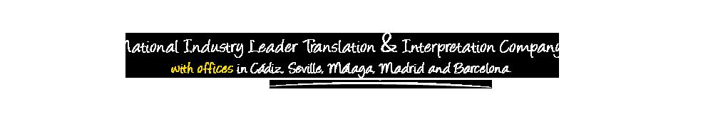 Traductor jurado malaga